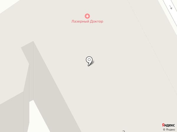 Лазерный Доктор на карте Санкт-Петербурга