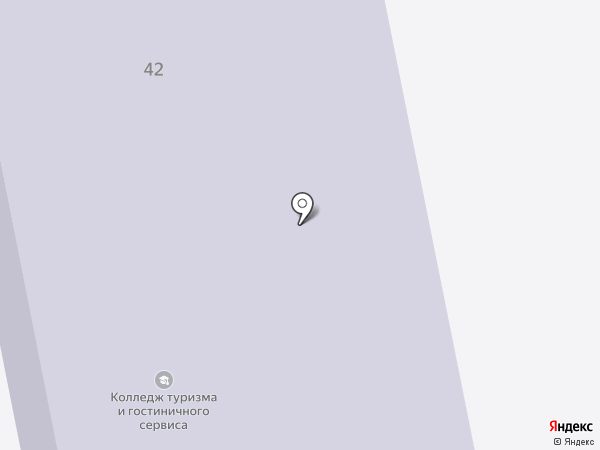 Санкт-Петербургский институт гостеприимства на карте Санкт-Петербурга
