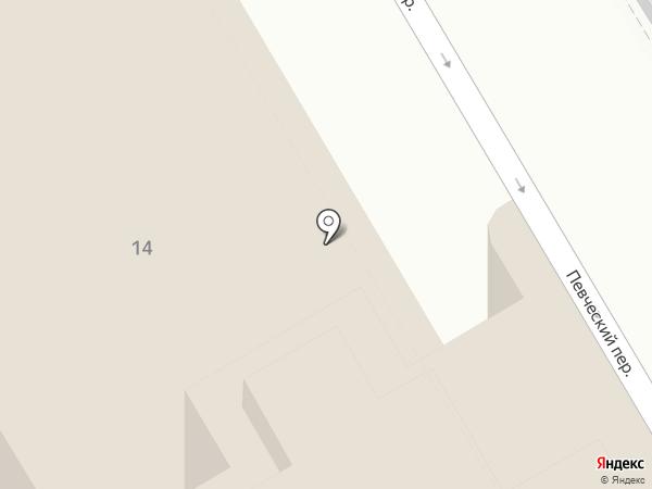Арматор на карте Санкт-Петербурга
