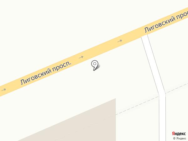 АКМЭ на карте Санкт-Петербурга