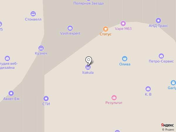 АСП на карте Санкт-Петербурга
