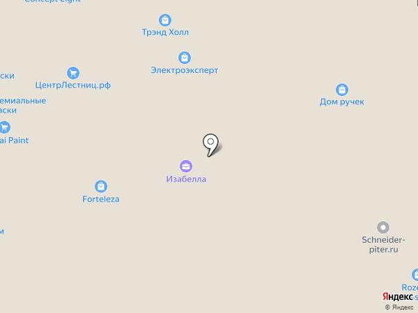 Неман-Север на карте Санкт-Петербурга