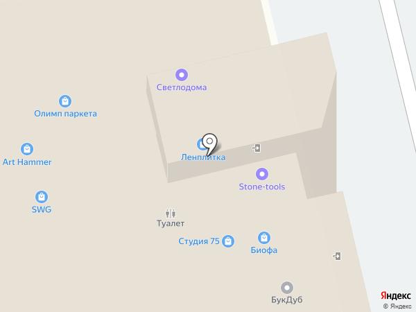 ЦСЛ на карте Санкт-Петербурга
