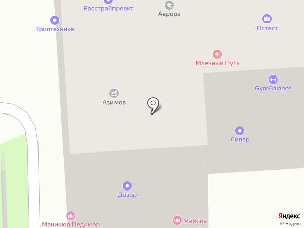 СЕТАЛЬ на карте Санкт-Петербурга