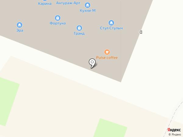 Картас на карте Санкт-Петербурга