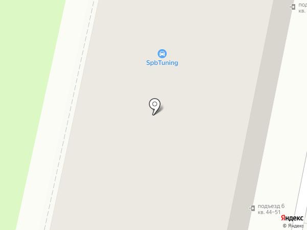 Валькирия на карте Санкт-Петербурга