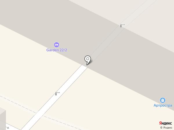 Антракт на карте Санкт-Петербурга
