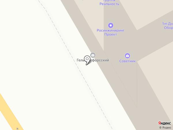 Гельсингфорсский на карте Санкт-Петербурга