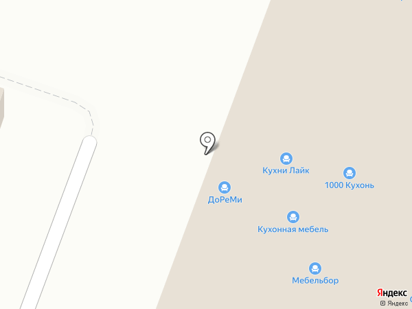1000 кухонь на карте Санкт-Петербурга