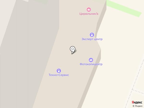 Мебельный магазин на карте Санкт-Петербурга