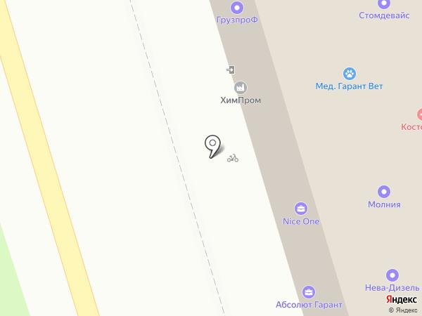 ПетроПерлит на карте Санкт-Петербурга