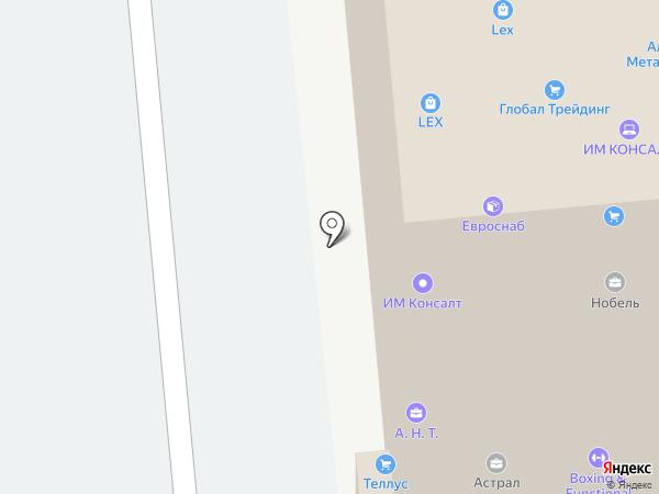 Турмалин, ЗАО на карте Санкт-Петербурга