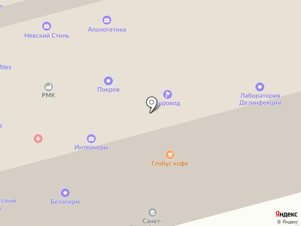 Энергетический стандарт на карте Санкт-Петербурга