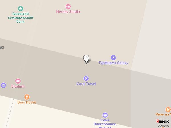 Сони электроникс на карте Санкт-Петербурга
