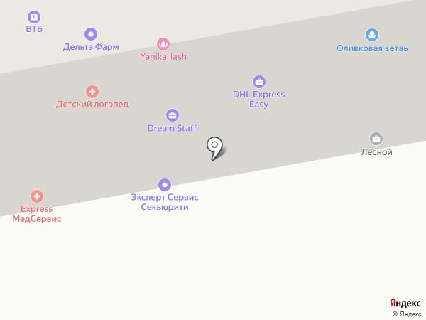 Клик-Тур на карте Санкт-Петербурга
