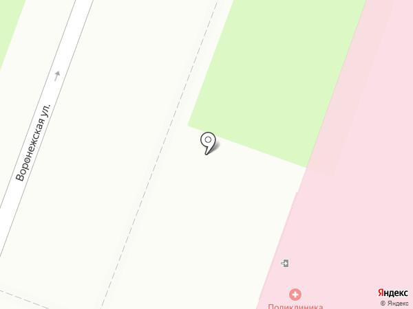 Городская поликлиника №19 на карте Санкт-Петербурга