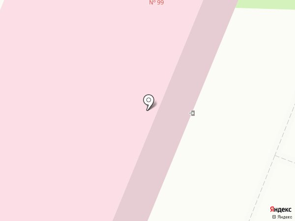 Городская поликлиника №99 на карте Санкт-Петербурга