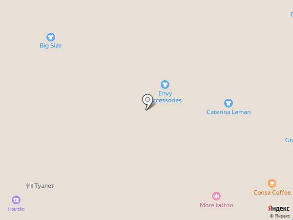 Дюкамен на карте Санкт-Петербурга
