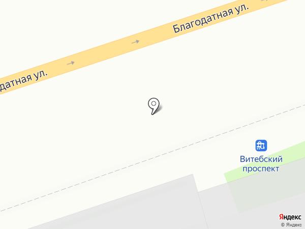 WebArt на карте Санкт-Петербурга