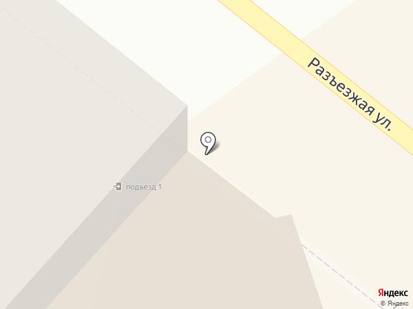 Противотуберкулезный диспансер №17 на карте Санкт-Петербурга