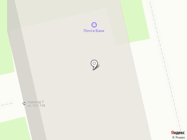 Почтовое отделение №211 на карте Санкт-Петербурга
