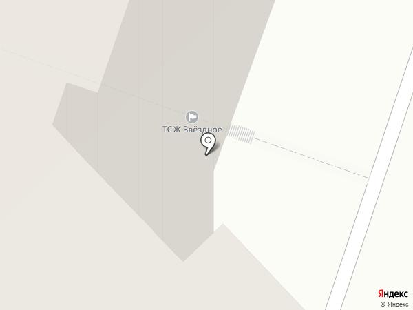 Звездное, ТСЖ на карте Санкт-Петербурга