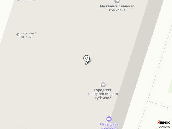 Межведомственная комиссия по вопросам перепланирования квартир, пригодности квартир для проживания Фрунзенского района на карте Санкт-Петербурга