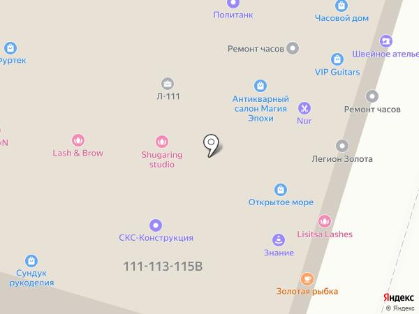 Оптимебель на карте Санкт-Петербурга
