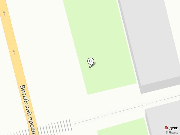 Гаражный кооператив №13 на карте Санкт-Петербурга