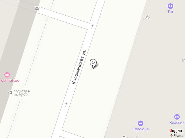 Claudia на карте Санкт-Петербурга