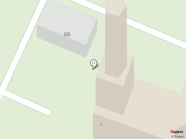 Храм Святого Праведного Иова Многострадального на карте Санкт-Петербурга