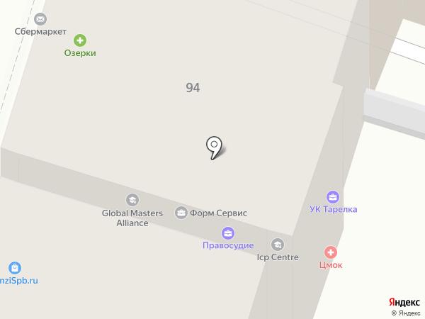 СПб-Сервис на карте Санкт-Петербурга
