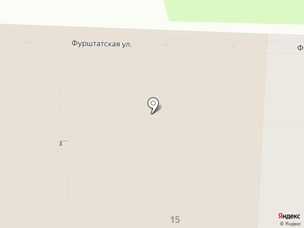 Генеральное консульство Соединенных Штатов Америки на карте Санкт-Петербурга