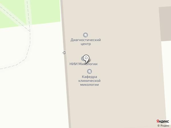 НИИ медицинской микологии им. П.Н. Кашкина на карте Санкт-Петербурга
