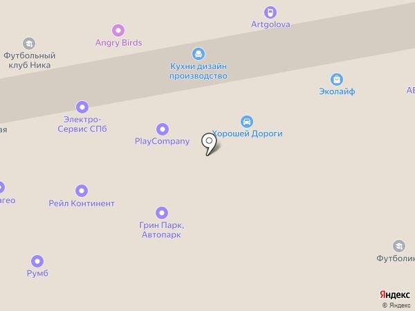 ЦКН ЛЗТО на карте Санкт-Петербурга