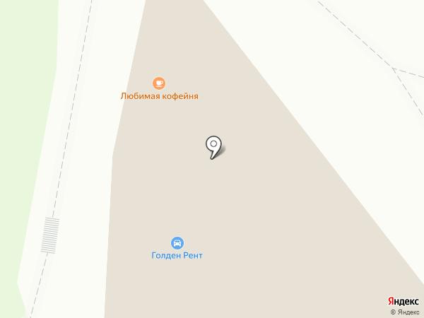 Хлопткань на карте Санкт-Петербурга