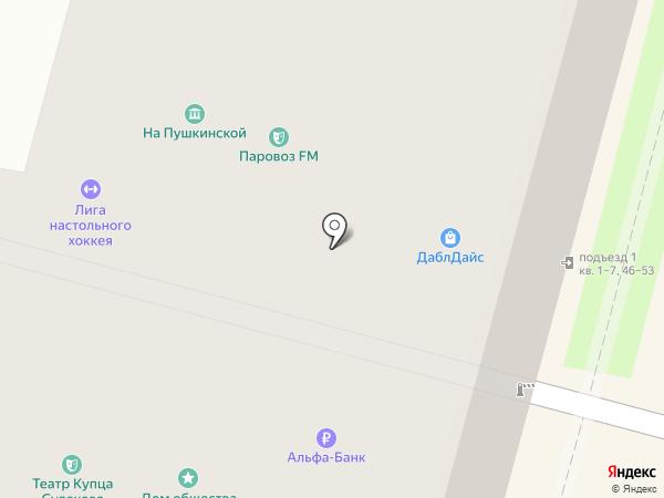 Балтийский банк, ПАО на карте Санкт-Петербурга