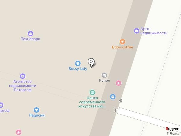 Центр современного искусства им. Сергея Курёхина на карте Санкт-Петербурга