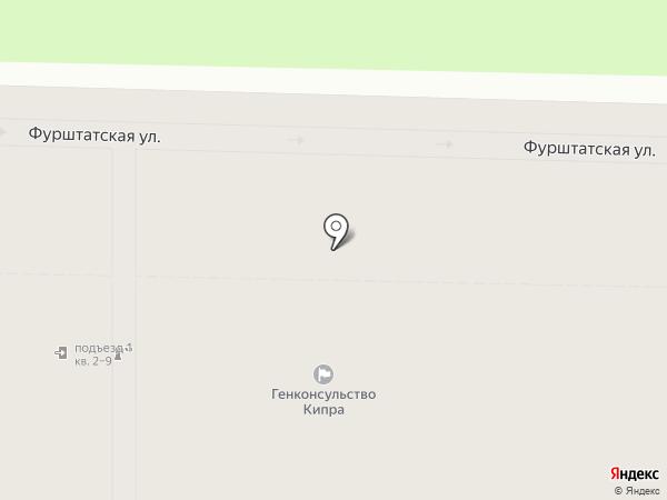 Генеральное консульство Республики Кипр на карте Санкт-Петербурга