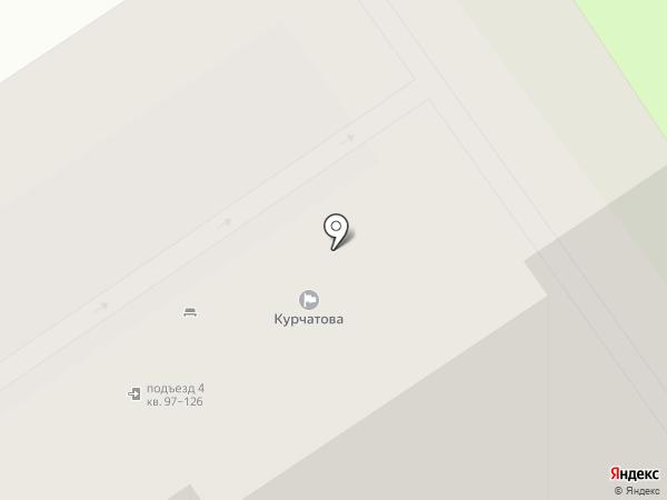 Курчатово, ТСЖ на карте Санкт-Петербурга