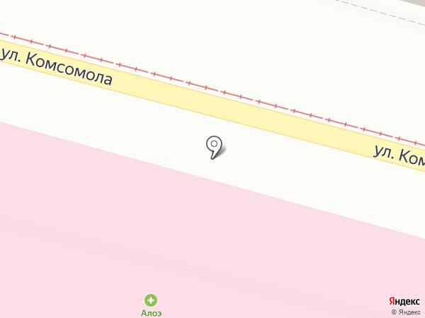 Алоэ на карте Санкт-Петербурга
