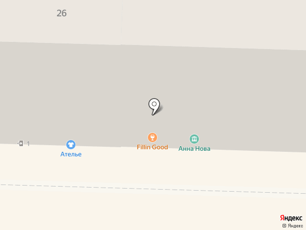 Anna Nova на карте Санкт-Петербурга
