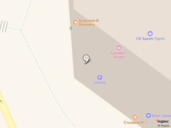 ГТИБ на карте Санкт-Петербурга