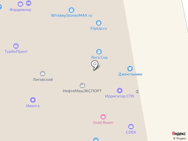 ОптоЭнерго на карте Санкт-Петербурга
