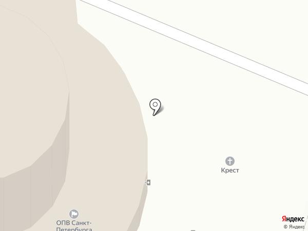 Храм Державной иконы Божией Матери на карте Санкт-Петербурга
