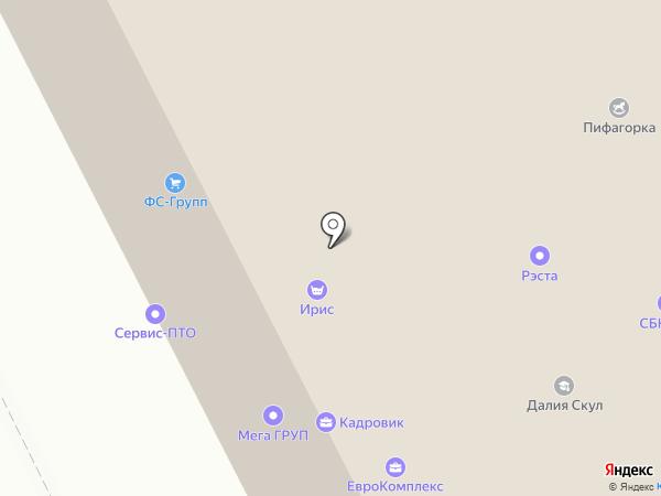 ЛЕНИК на карте Санкт-Петербурга
