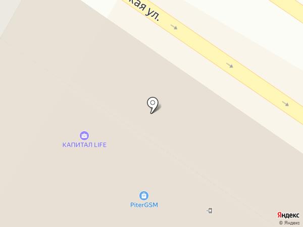 ТРАНСТУР ТРЕВЕЛ НОРД на карте Санкт-Петербурга