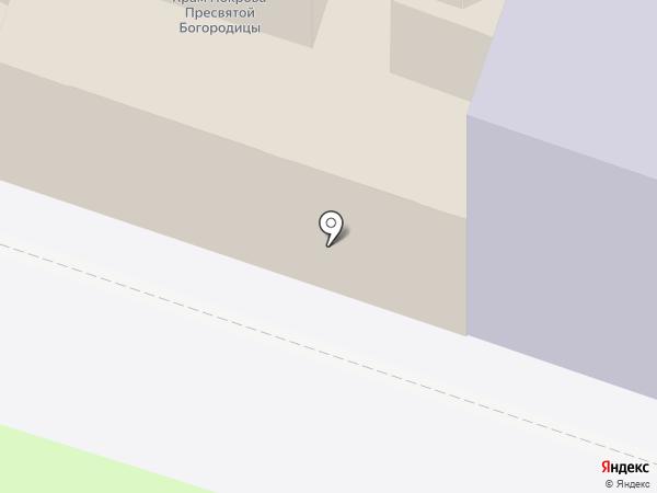 Храм Покрова Пресвятой Богородицы на карте Санкт-Петербурга