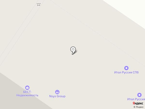 Санкт-Петербургский социально-экономический институт, НОУ на карте Санкт-Петербурга
