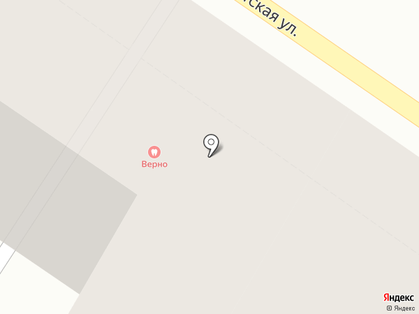 Веранда на карте Санкт-Петербурга